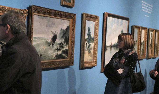 L'EMAT acull la inauguració de l'exposició de Genaro Palau