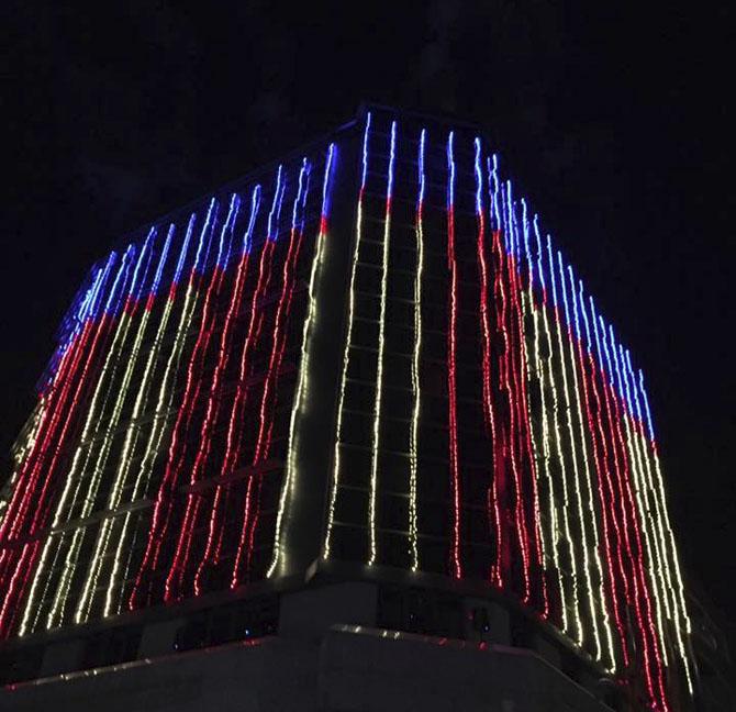 Compromís denuncia que l'espectacle de llums nadalenques va sonar fins a mitjanit