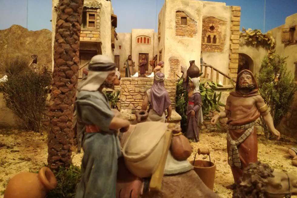 L'Ajuntament inaugura el seu betlem de 20 metres quadrats en La Puríssima